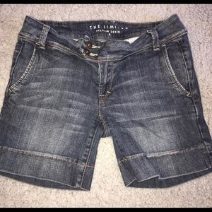 Limited Premium Denim Jean Shorts size 8
